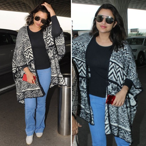 Parineeti Chopra Airport Look