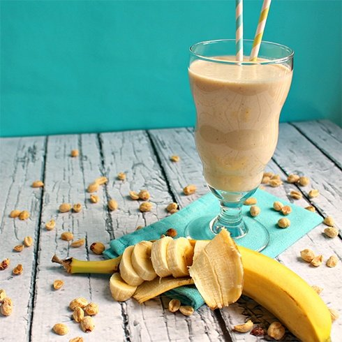 Peanut butter and Banana Shake