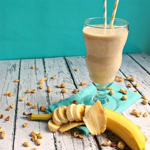 Peanut butter and Banana Shake