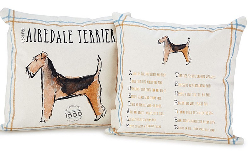 Pedigree Poem Pillow
