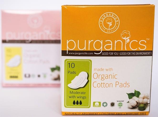Purganics Sanitary Pads