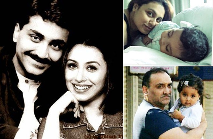Rani Mukherjee Family