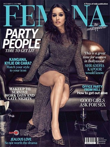 Shraddha Kapoor on Femina December 2017