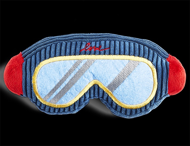 Ski Goggles Dog Toy