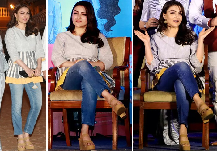 Soha Ali Khan at her Book Launch