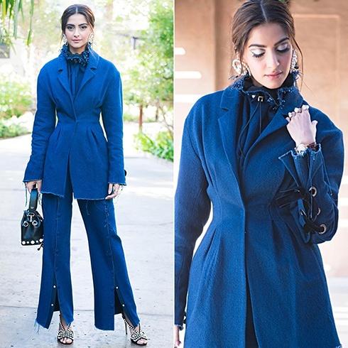 Sonam Kapoor in Blue