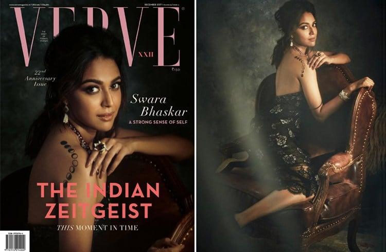 Swara Bhaskar on Verve December 2017