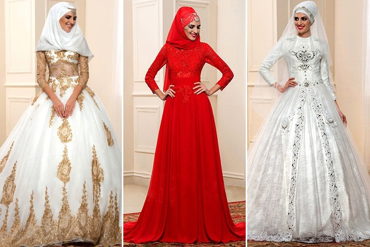 Wedding Hijab Dress