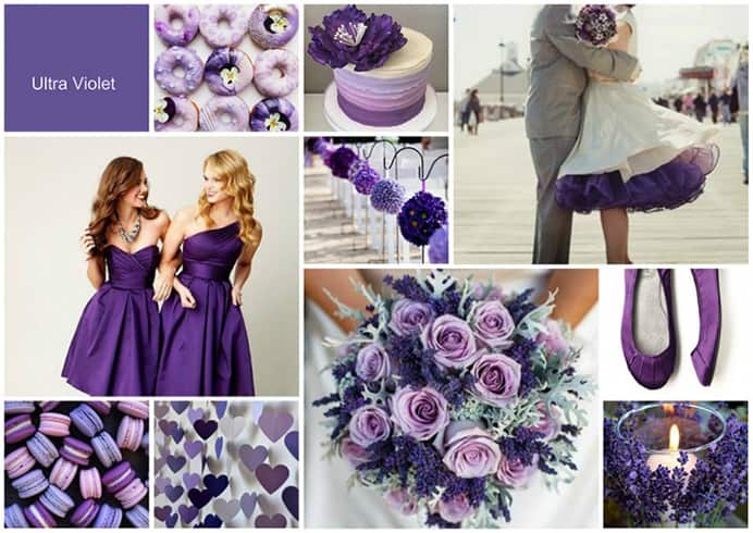 Colour Bridal Bouquets 2018