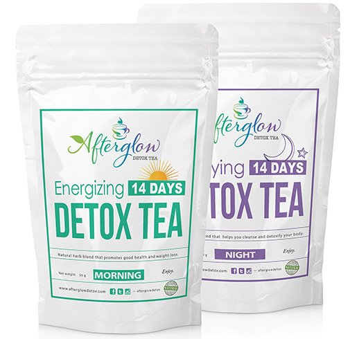 Afterglow Detox Tea Combo
