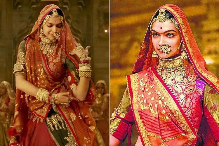 Mehndi Outfits 2018 : Padmaavat s ghoomar song inspired outfits for weddings