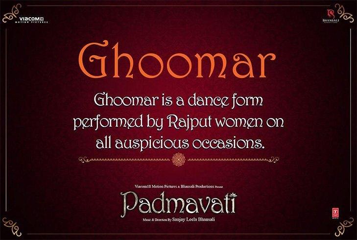Ghoomar Song
