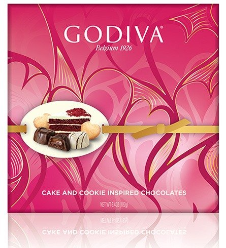 Godiva Cake And Cookie Inspired Chocolates
