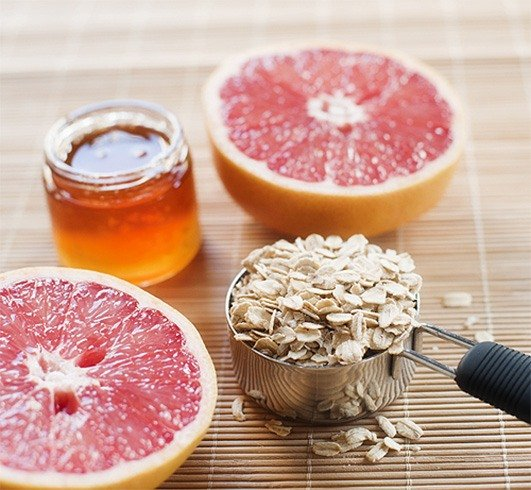 Grapefruit Face Mask Recipe for Fine Lines