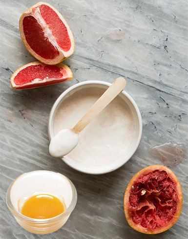 Grapefruit Face Mask Recipe for Oily or Acne-Prone Skin