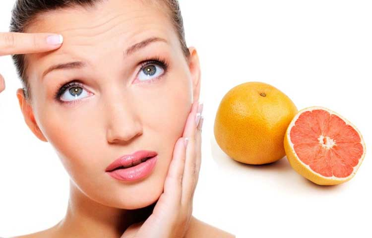 Grapefruit Face Mask Recipe to Reduce Wrinkles