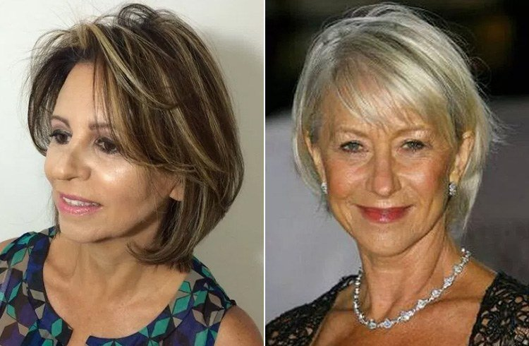 Hairstyles For Thin Hair Over 50s