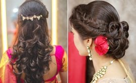 Indian Hairstyles For Medium Hair