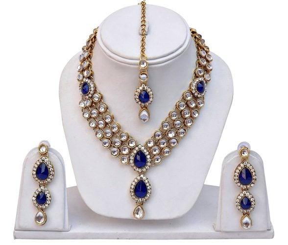 Kundan Traditional Necklace Jewellery