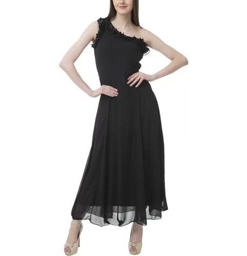 Lady Stark Women's Maxi Black Dress