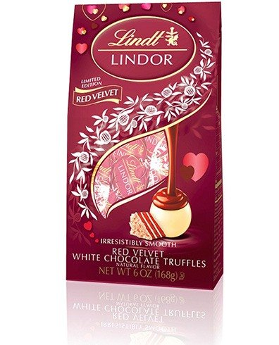 Lindt Lindor Red Velvet White Chocolate Truffles