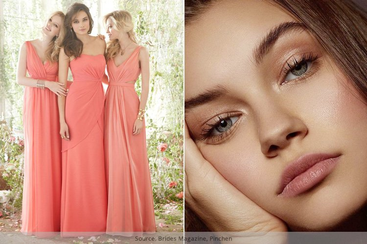 Makeup Tips To Follow While Wearing A Coral Dress