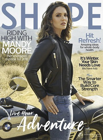Mandy Moore for Shape