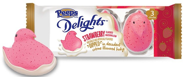 Peeps Delights Strawberry Marshmallow Chicks