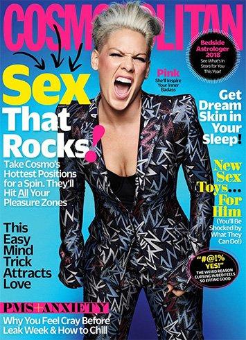 Pink for Cosmopolitan