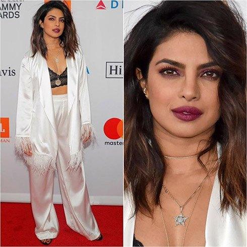 Priyanka Chopra at re-Grammy Gala Party