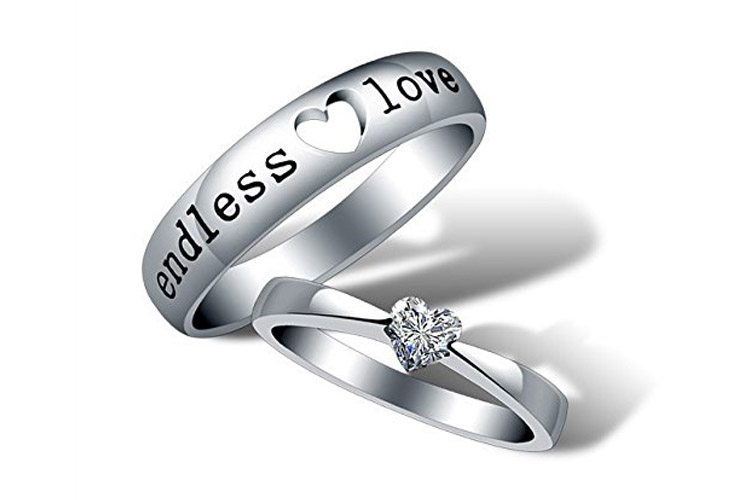 Proposal Couple Rings for Girls
