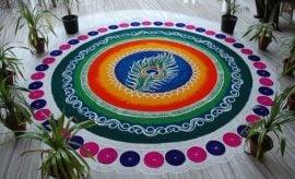 Small Muggulu Designs For Sankranthi