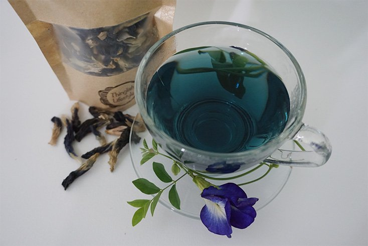 Thai Butterfly Pea Flower Tea