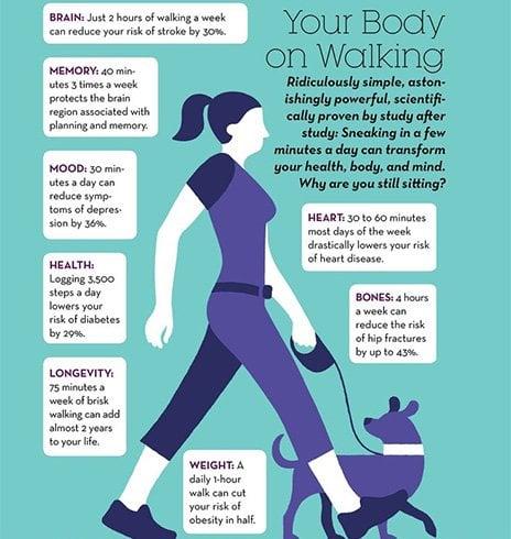 Walking Good For Memory