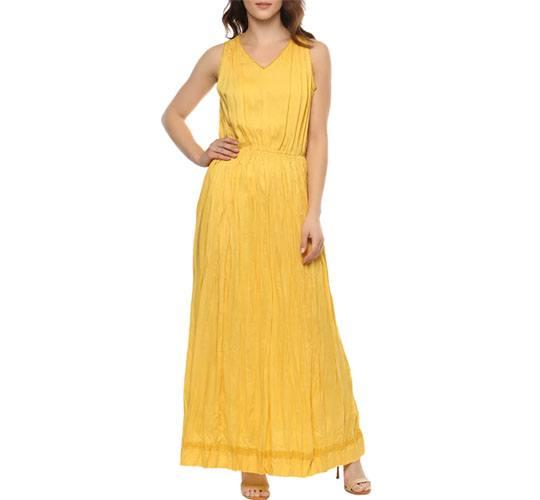 Yellow Modal Maxi Dress