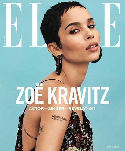 Zoe Kravitz for Elle US