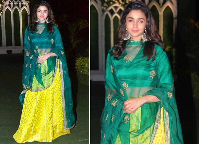 Alia Bhatt in Raw Mango