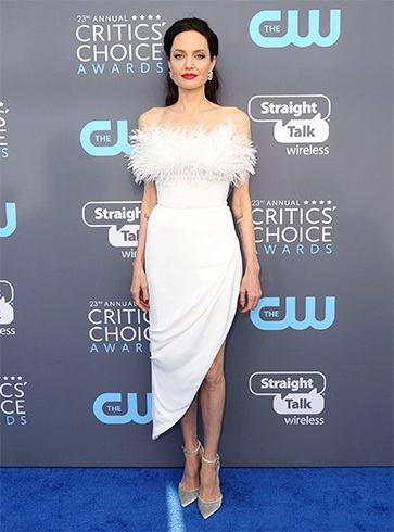 Angelina Jolie at Critics' Choice Awards 2018