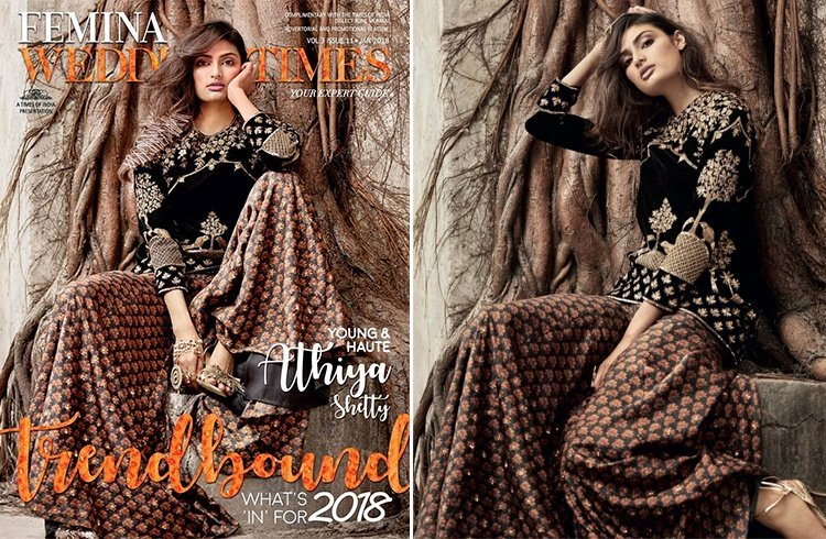 Athiya Shetty for Femina Wedding Times January 2018