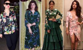 Celebs in Floral Dress