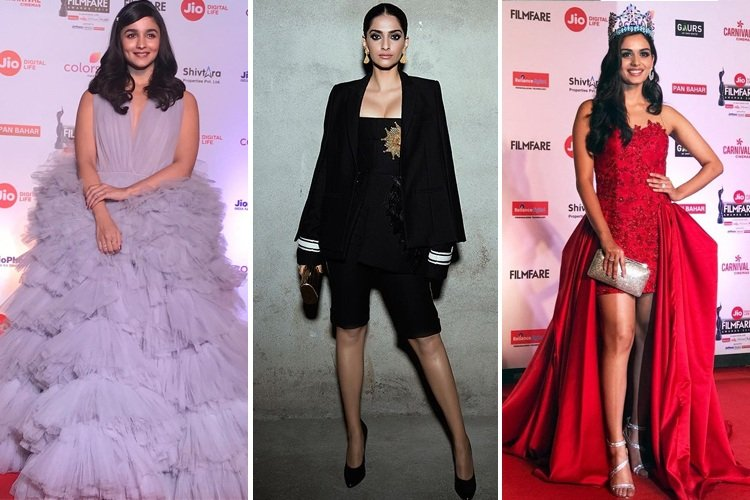 Celebs at 63rd Jio Filmfare Awards 2018