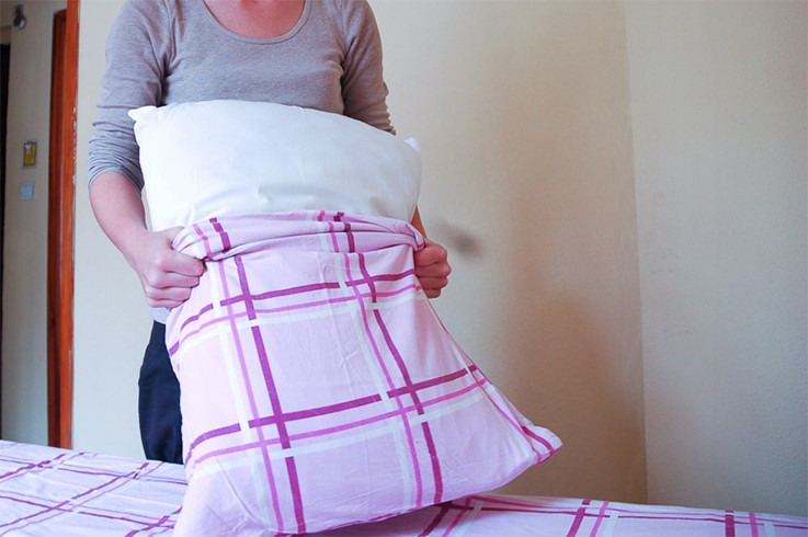 Change Your Pillow Case Weekly