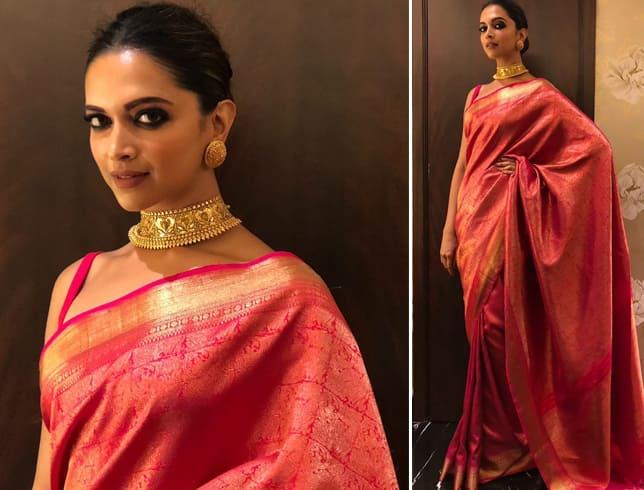 Deepika Padukone at HT Most Stylish Awards 2018