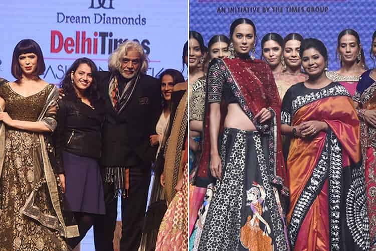 Dream Diamond Delhi Times Fashion Week 2018