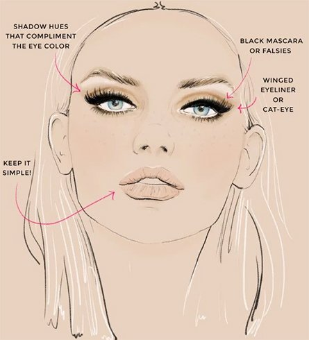 Eye Makeup For Oval Face