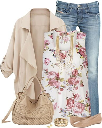 Floral Outfit Ideas