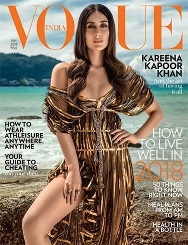 Kareena Kapoor for Vogue January 2018