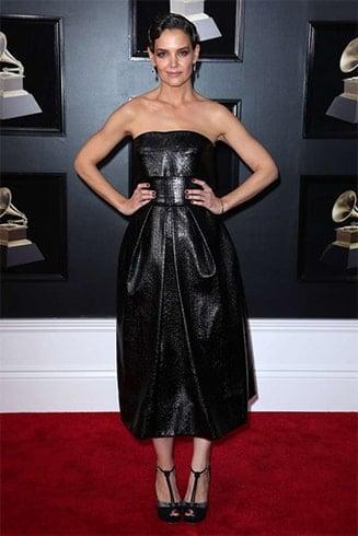 Katie Holmes at Grammys 2018