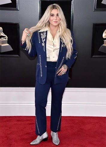 Kesha at Grammys 2018