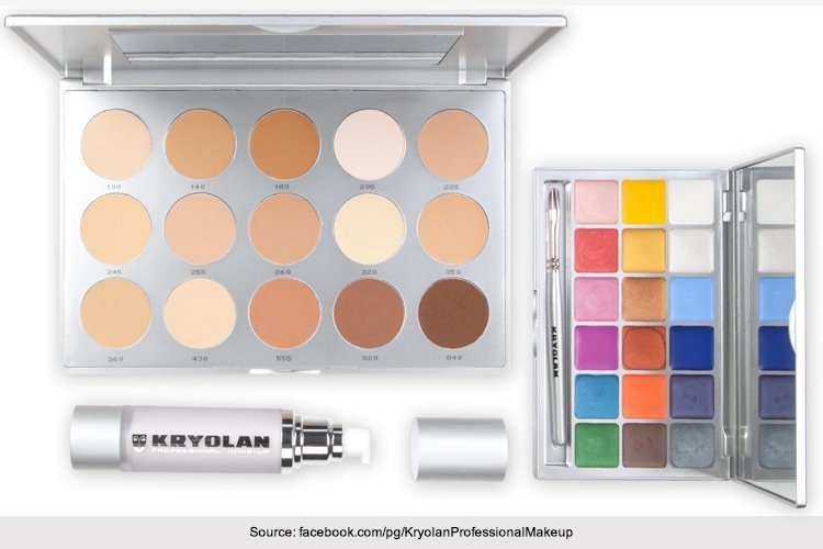 Kryolan Makeup Kits Available In India